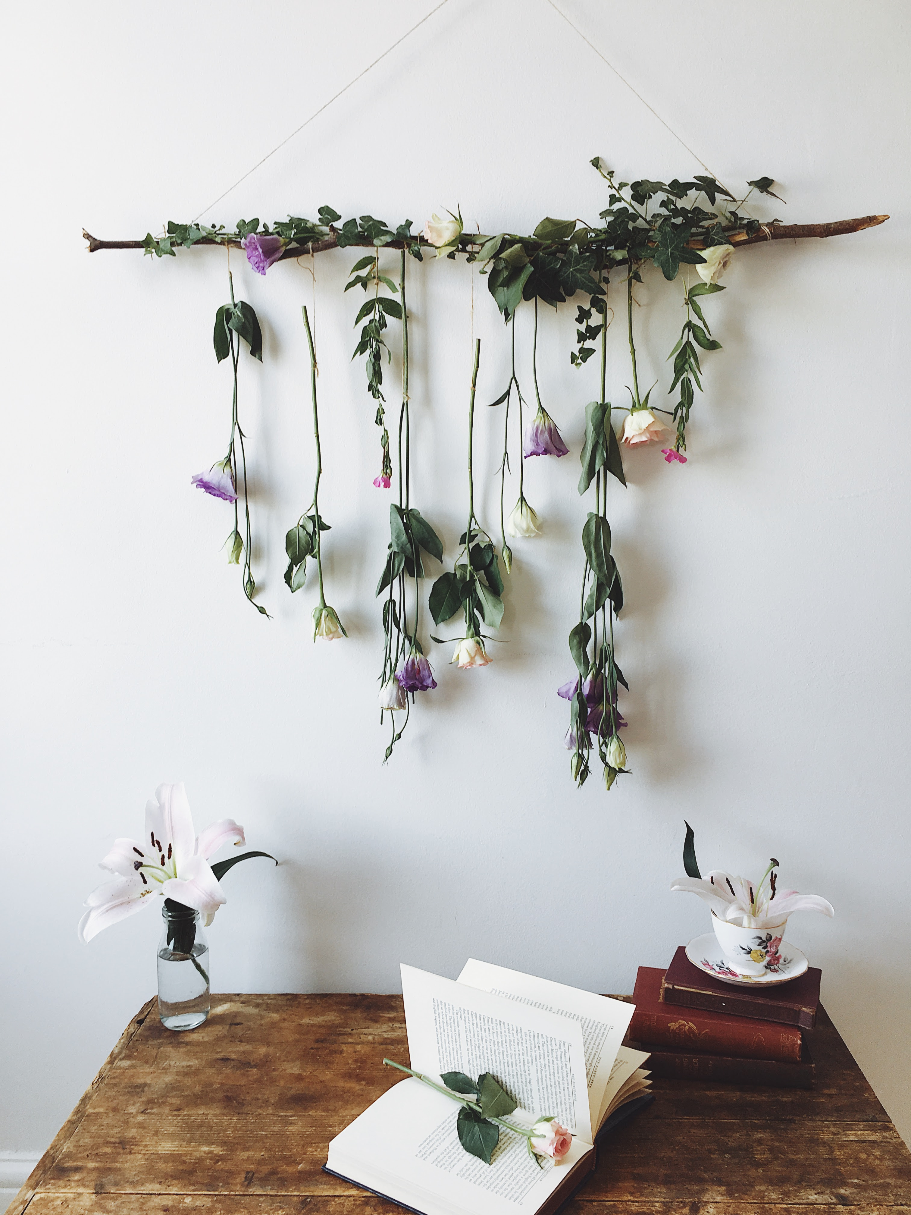 Tutorial - How to make a Hanging Flower Decoration | Kerry ...