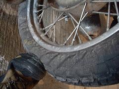 flat ural tire