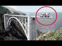 Video Pembuatan Jembatan Gantung Terpanjang di Dunia, Teknologi Ekstrim Mesin Tercanggih di Dunia