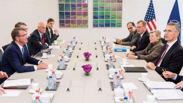 Reunión de ministros de Defensa de la OTAN