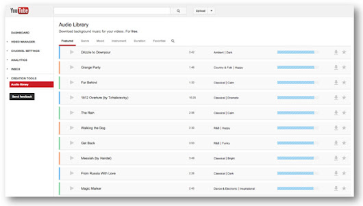 YouTube debuts royalty-free music library, get your free tunes right here
