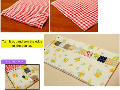 How to make a patchwork pouch (4)