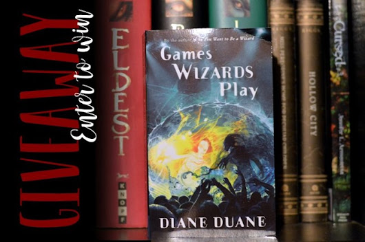 GIVEAWAY: Games Wizards Play by Diane Duane • We Are Word Nerds