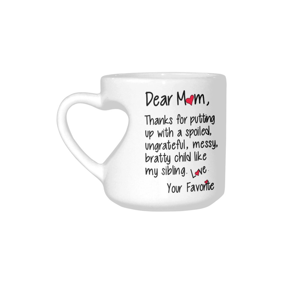 Interestprint Thanks For Dear Mom Child Love Favorite Inspirational