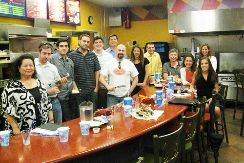 Taco Bell Blogger Event: Large Presentation Lab