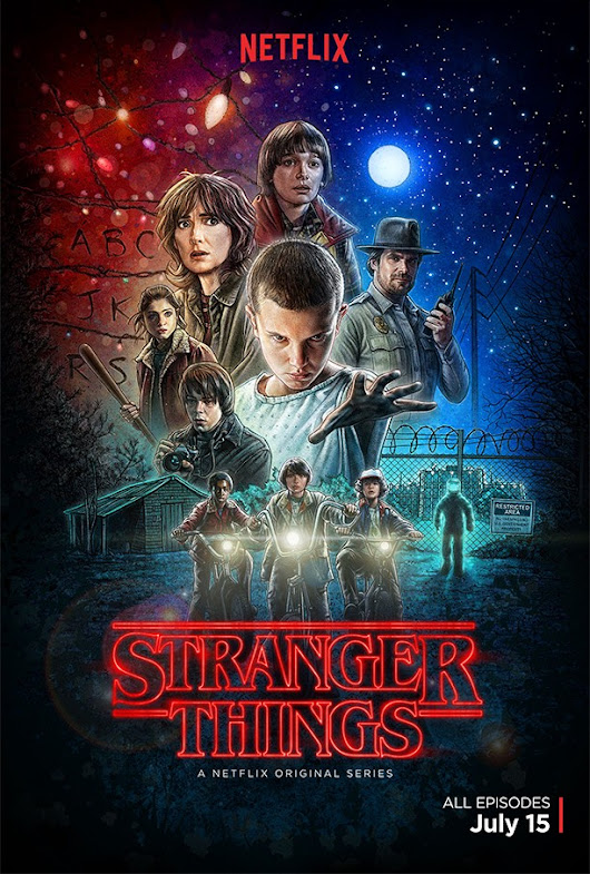 Series Review: Netflix's Stranger Things is an 80s Sci-Fi Nostalgic Wonder