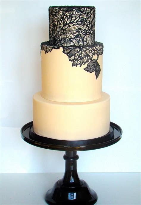 17  best images about Sugar lace wedding cake on Pinterest