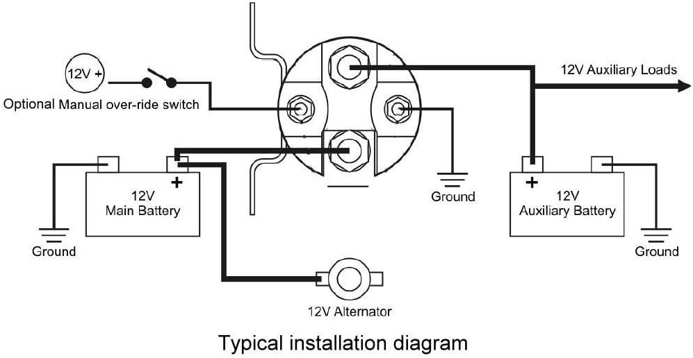 Wiring Diagram PDF: 12v Battery Isolator Wiring Diagram