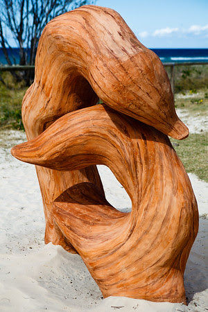 Kindled Spirits, Carmel Marsden - Swell Sculpture Festival, Pacific Parade, Currumbin Beach, Gold Coast, Queensland, Australia. Photos by Des Thureson:  http://disci.smugmug.com.