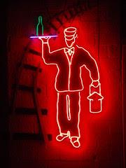 neon waiter