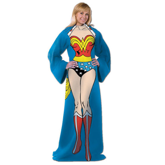 Wonder Woman Adult Comfy Throw by Northwest Company