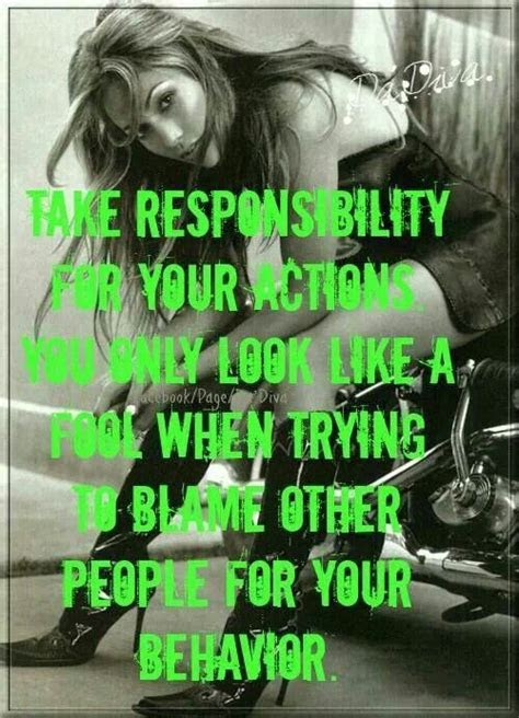 Quotes About Taking Responsibility For Your Actions