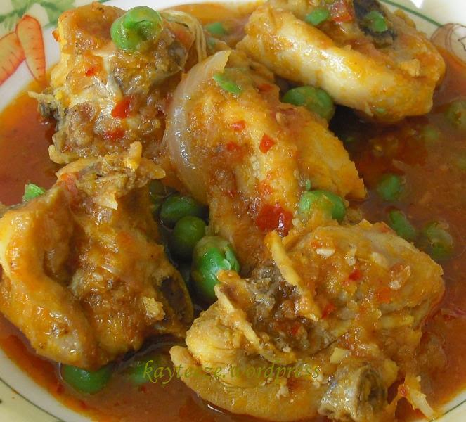 resepi ayam masak opor Resepi Kari Ayam Chef Wan Enak dan Mudah
