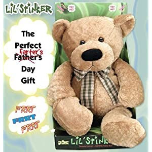 Lil' Stinker-Remite Controlled Farting Teddy Bear