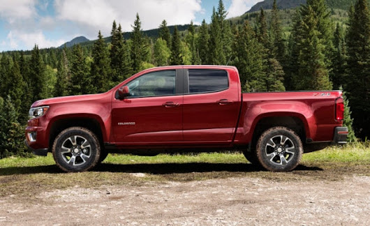 2017 Colorado Packs New V6 & Eight-Speed Automatic