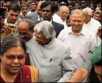 Kalam visits Jaffna
