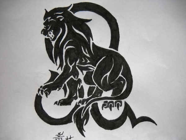 Leo Tattoo Ideas The symbol for Leo in the Zodiac is the Lion and is ruled