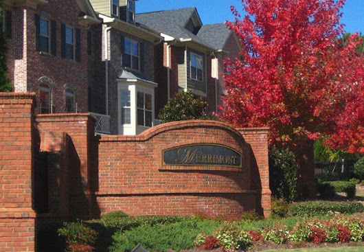 Johns Creek Townhome For Sale In Merrimont Gated Community - At Home In Johns Creek