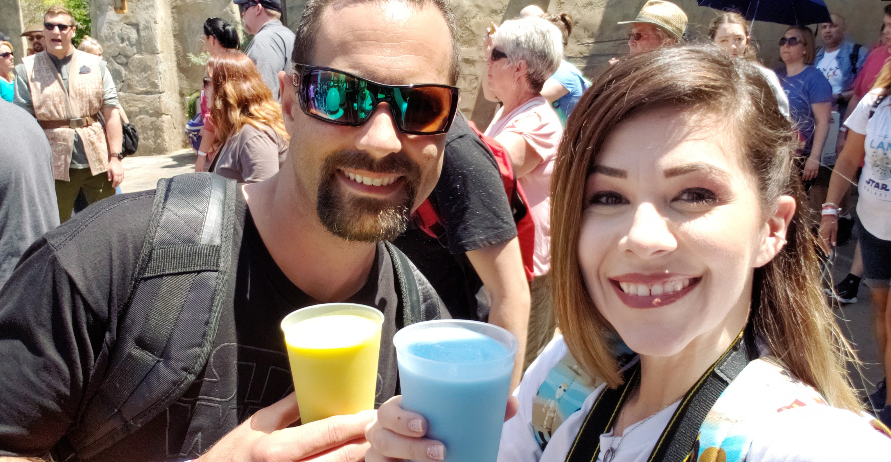 Galaxy's Edge: My Experience on Opening Day | Anakin and His Angel