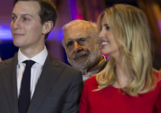 Trump pal Carl Icahn dumped $30 million of stock in a steel-dependent company right before tariff announcement