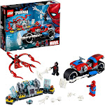 Lego Marvel Building Toy, Spider-Man Bike Rescue