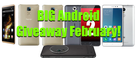 BIG Android February Giveaway!