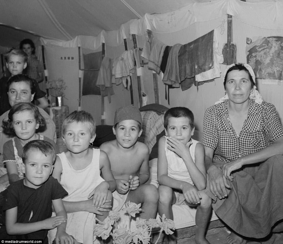 The refugee camp came out of a British-led scheme known as the Middle East Relief and Refugee Administration, which launched in 1942. The organization, which was based in Cairo, helped provide for some 40,000 Poles, Greeks and Yugoslavs