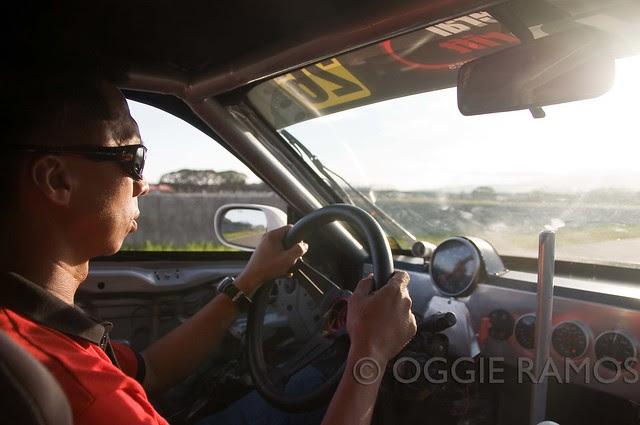 Clark Speedway - Audel Sison at the Wheel