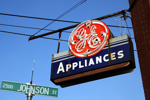 g.e. appliances neon
