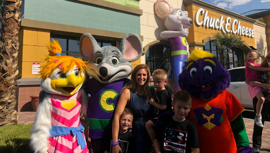 God Bless Chuck E. Cheese's - Stay Fit Mom