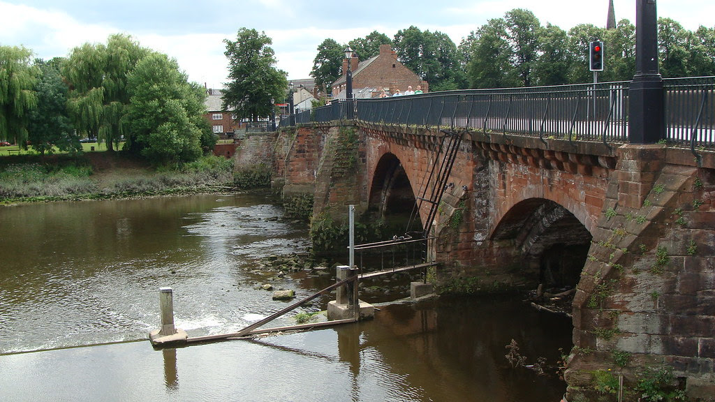 Old  Dee Bridge, Handbridge, Chester, England