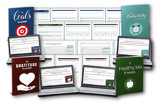 "[63% Discount] ""Personal Daily Planner Mega Pack"" PLR"