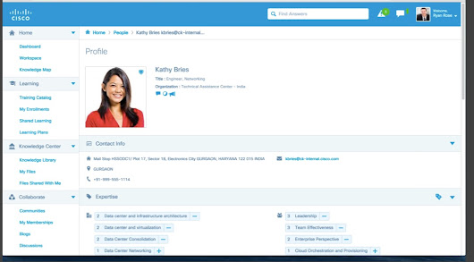 Cisco's Collaborative Knowledge: Further blurring of higher ed & professional dev lines -