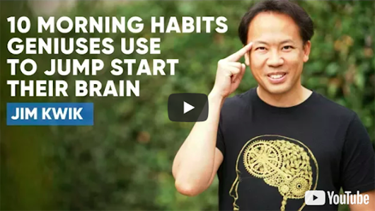 10 Morning Habits Geniuses Use To Jump Start Their Brain — Purpose Fairy