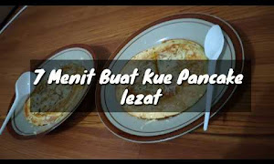 Resep Dan Cara Membuat Pancake Durian Yang Enak Dan Lembut