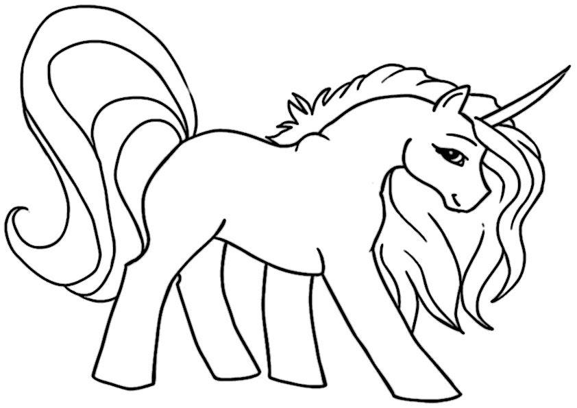 einhorn malvorlagen kostenlos  kinder zeichnen und ausmalen
