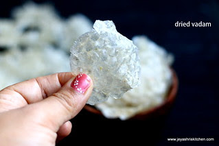 dried-vadam