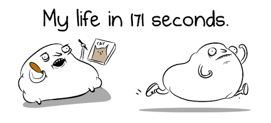 My life in 171 seconds - The Oatmeal