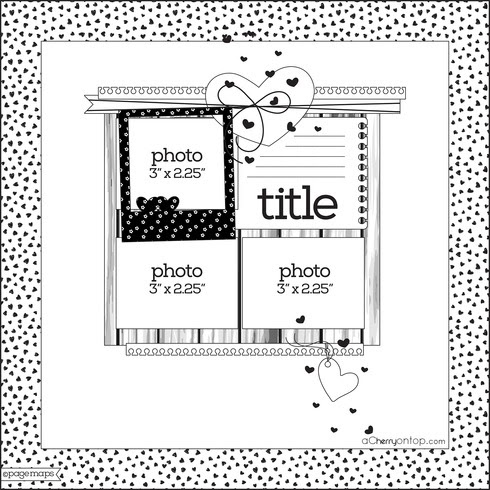 Cherry Bits: New Paper Craft Sketch Challenge At A Cherry On Top