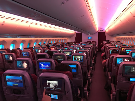 Review | Qatar Airways 787 Economy (Doha – Hong Kong)