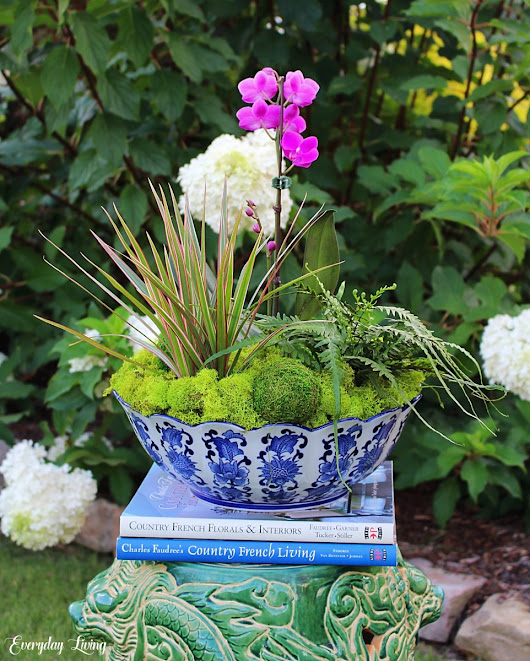 A Dish Garden In The Garden – Floral Friday