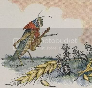grasshopper and ant photo: Parable of Ant amp Grasshopper Ant-Grasshopper.jpg