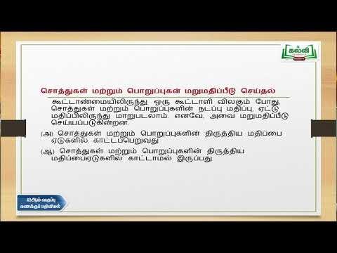 12th Accountancy கூட்டாளி விலகல்  Kalvi TV