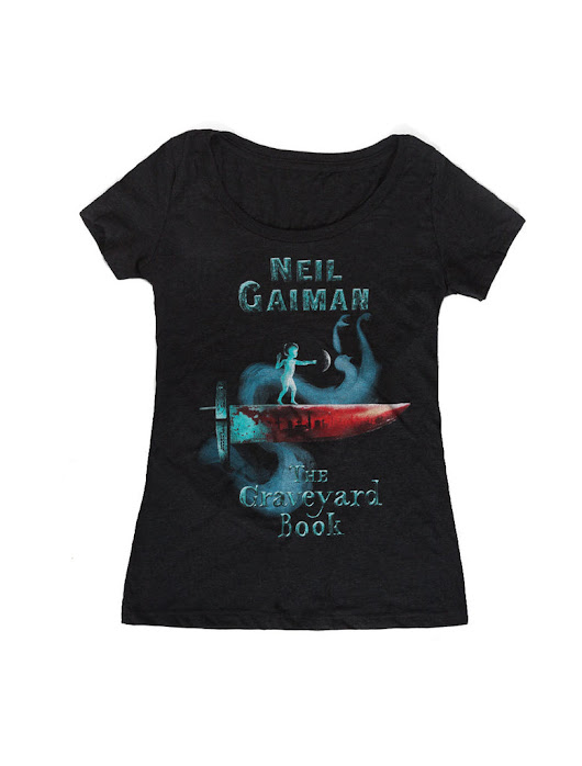 The Graveyard Book women's book t-shirt – Out of Print