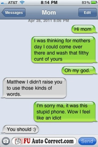 Some Funny Iphone Auto Correct Text Messages Gallery Ebaums World