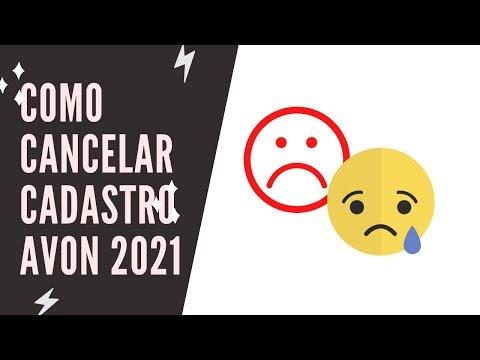 COMO CANCELAR CADASTRO AVON 2021
