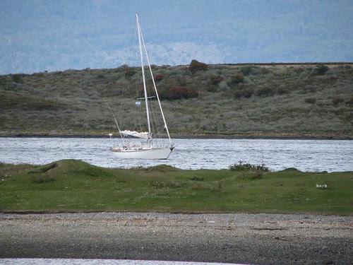 at anchor P Harberton
