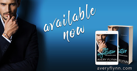 BLOG TOUR: The Negotiator by Avery Flynn