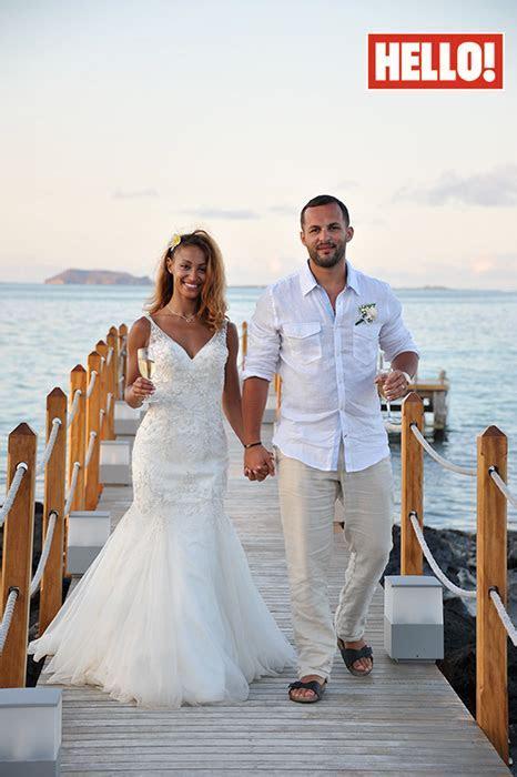Amelle Berrabah and Marcio Sousa Rosa's wedding photos
