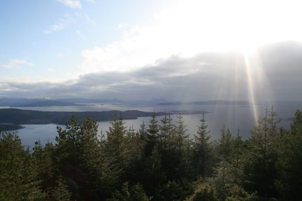 Utsikt fra Brandsøyåsen